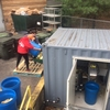 Student Workers Pulping Food Waste for On-site  Composting