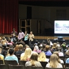 Sustainability Leadership Program members presented on Sustainable Agriculture to 500+ local high school students as part of the high school's Earth Day celebration.