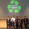 These students participated in the second annual eco-friendly entrepreneur competition, Green Tank. Students pitched their product or service ideas to a panel of faculty judges in hopes of winning cash prizes.