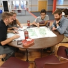 Student, Faculty & Staff Eco-Reps work together to map out a local adventure for their communities during a Sustain IT workshop with the Outing Club