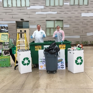 Dumpster Dive 2017 Western Technical College