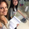 Student Interns Auditing Plumbing Fixtures in Residences