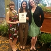 Lead Student Organizer, Karina Newman, at UCLA Green Gala Awards Ceremony