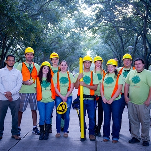 Community Engaged Scholarship and Learning in Urban Forestry helps UTRGV earn Tree Campus USA Designation