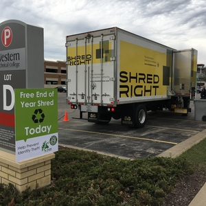 Shred Right Recycling Event