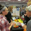 """Both students and adult community members enjoyed the 2017 Sustainability Fair, where the group """"Best Food Forward"""" provided delicious fresh produce to attendees."""