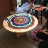 Chemeketa Students Make Upcycled Art from Bottle Caps