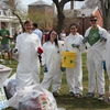 The Tufts Eco-Reps conducted a waste audit as part of Zero Waste Week