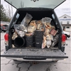 Another truck-load of trash removed from the banks of Chittenango Creek
