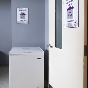 Utilizing Freezers for Compost Collection at Holy Cross' Student Apartments