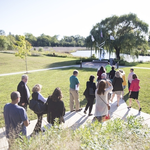 College of Lake County Living Lab Trail