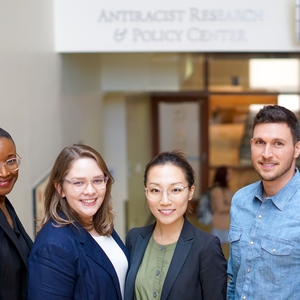 American University - Staff members and students involved in antiracism work at Antiracism Center