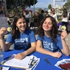 Me (left) and Maggie (right, who is taking over HFC UCSB next year) tabling at the UCSB Environmental Studies 50th Anniversary Event
