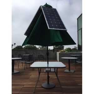 Renewable Energy at Harvey Mudd: The Design, Construction and  Life Cycle Analysis of a Solar-Powered ParaSOL