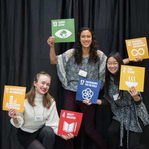 Attendees at the SDG Summit 2018
