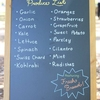 UT Farm Stand produce sign