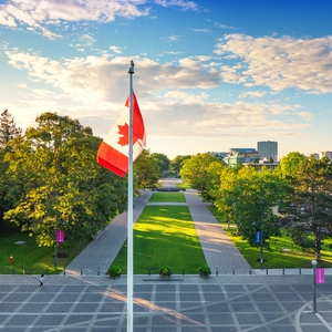 UBC Sustainability - Canadian Flag