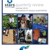 Report Cover: A mosaic of campus sustainability innovations.