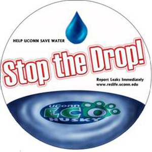 Stop the Drop! Sign