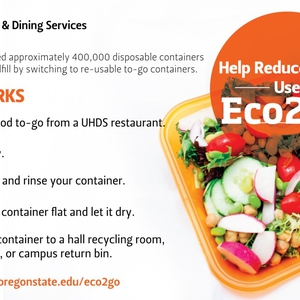 Oregon State U Fully Transitions to Reusable Food To Go Containers