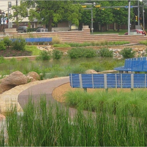 Sustainable Sites Certification for The Green at College Park on the Campus of The University of Texas at Arlington