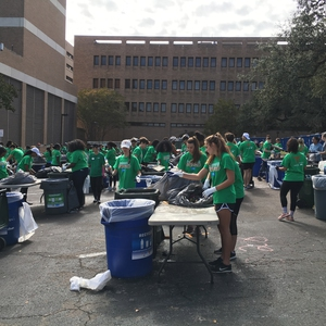 A New Zero Waste Goal for Division 1 Football Games