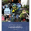 Report Cover: A mosaic of sustainability in higher education.