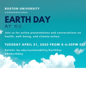 Boston University Online Earth Day 2020