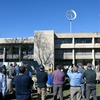 Flip the Switch ceremony to celebrate new ducted wind turbine at Clarkson University