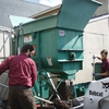 Mixing Compost at the SU Compost Facility