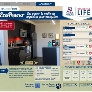 Turning the Desert Green: Residence Life's Coordinator of Sustainability Education