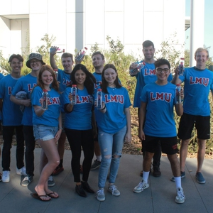 Loyola Marymount University Sustainability Students for Water Refill Challenge