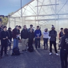 UMass Lowell Honors College Students tour the Urban Agriculture Greenhouse