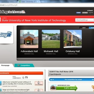SUNY Polytechnic Institute Building Energy Dashboard