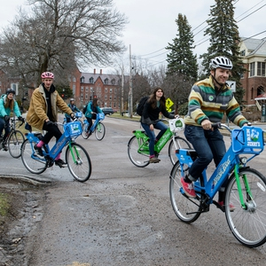 New Bikeshare Program Gets Rolling at UVM