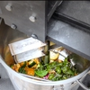 Food waste in biodigester
