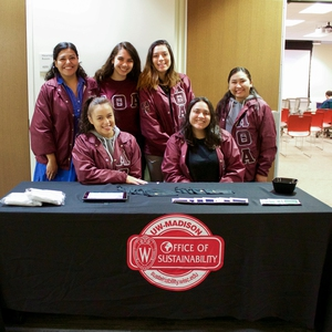 Sorority Volunteers at Environmental Racism Panel, UW-Madison