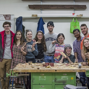 Sequestering Carbon:  Using Campus Wood to Make Carbon-Capturing Furniture and Items