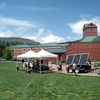 "PV panels power the concert stage for Appalachian's annual ""Earth Tones"" concert."