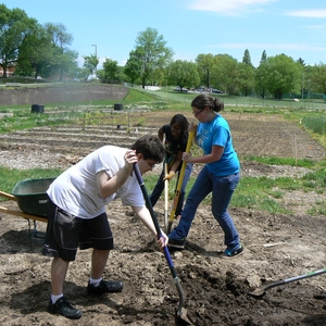Sustainable Urban Eco-Garden at St. Louis Community College