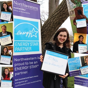 ENERGY STAR Photo Booth at Northwestern University
