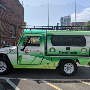 Stevens Institute of Technology Locksmith Shop Electric Vehicle
