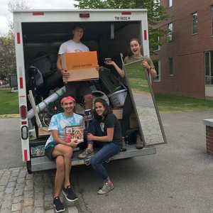 Bowdoin College Give and Go Moveout