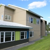 Newest energy efficient residence hall at Unity College.