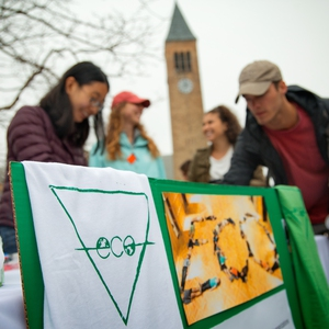 Cornell Environmental Collaborative (ECO)  tabling at Springfest