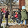 Students cause a stir by tapping campus trees to make syrup at the University of Louisville.