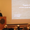 Filmmaker and founding member of FoodCorps, Ian Cheney, presented the Earth Week keynote at DePauw University
