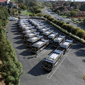 UC Irvine's Transition from a Bio-Diesel to Electric Transit Fleet