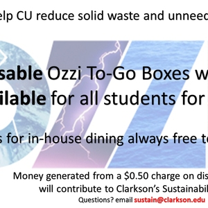 Charging for Disposable to-go Boxes to Reduce Waste and Generate Sustainability Funds (Updated)