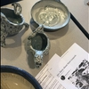 Student created ceramics depicting endangered Snow Leopard at CSI's 10th Annual Sustainability Fair